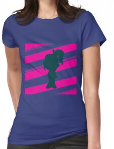 """Double Stripe"" Vanellope Womens Fitted T-Shirt"