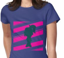 """""""Double Stripe"""" Vanellope Womens Fitted T-Shirt"""