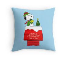 Best Friend Peanuts Snoopy and Woodstock Throw Pillow