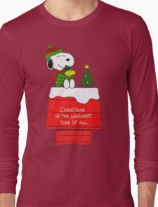 Best Friend Peanuts Snoopy and Woodstock Long Sleeve T-Shirt