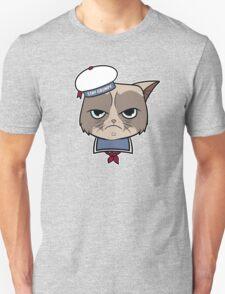 Stay Grumpy The Marshmallow Cat T-Shirt