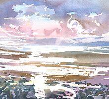 Burghead Bay 2, Moray Scotland - 2011 by sabro