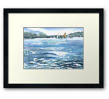 Manly Harbour, Australia - 2011 Framed Print