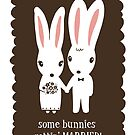 Some Bunnies Getting Married by Jenn Inashvili