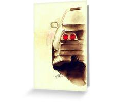 Nissan Skyline GTR R33 Drift Greeting Card