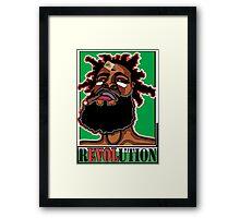 JAH CALLING: RASTA REVOLUTION Framed Print