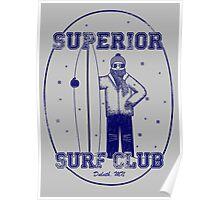 Superior Surf Club Poster