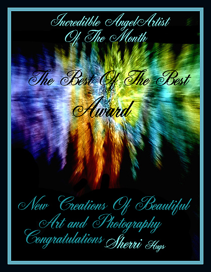 INCREDIBLE ANGEL ARTIST OF THE MONTH ..NEW BANNER by Sherri     Nicholas