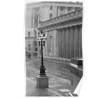 Rain in London Poster