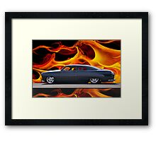 1950 Ford Custom Coupe 6 Framed Print