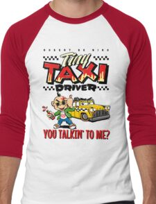 Tiny Taxi Driver Men's Baseball ¾ T-Shirt