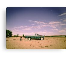 Lonely Pickup Canvas Print