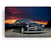 1950 Ford Custom Coupe 1 Canvas Print