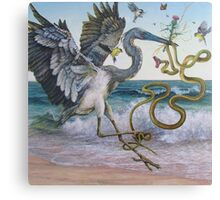 """Serpent and the Thistle""  Canvas Print"