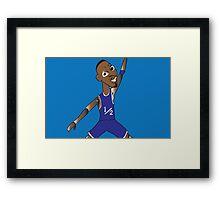 li'l penny hardaway jumpman  Framed Print