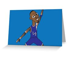 li'l penny hardaway jumpman  Greeting Card