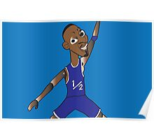 li'l penny hardaway jumpman  Poster