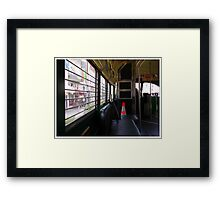 Mid-Century Transport To A Post Century World Framed Print