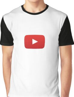 YouTube Play Button Graphic T-Shirt