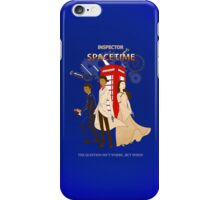 Inspector Spacetime II iPhone Case/Skin