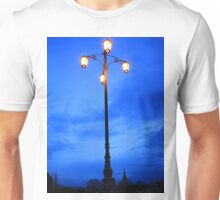 Reality Checkpoint lampost at dusk Unisex T-Shirt