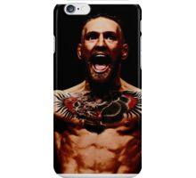 Conor McGregor - black background iPhone Case/Skin