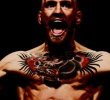 Conor McGregor - black background Sticker
