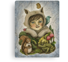 Forest of Playground Canvas Print
