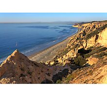 The Cliffs of Torrey Pines State Beach Photographic Print