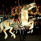 Beautiful Horse on the Carousel by SummerJade