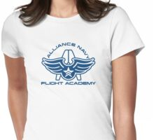 Flight Academy Womens Fitted T-Shirt