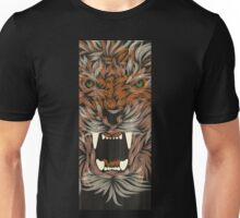 tiger lilly line colour Unisex T-Shirt