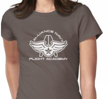 Flight Academy - White Womens Fitted T-Shirt