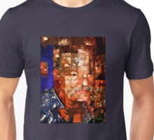Stained Glass Man Unisex T-Shirt