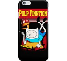 Funny Pulp Finntion Adventure Time iPhone Case/Skin