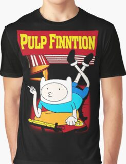 Funny Pulp Finntion Adventure Time Graphic T-Shirt