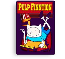 Funny Pulp Finntion Adventure Time Canvas Print