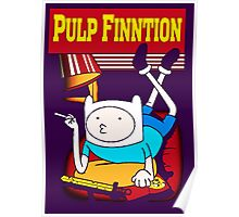 Funny Pulp Finntion Adventure Time Poster