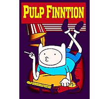 Funny Pulp Finntion Adventure Time Photographic Print