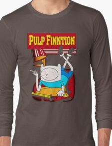Funny Pulp Finntion Adventure Time Long Sleeve T-Shirt