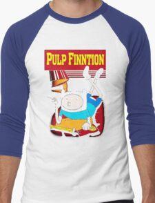 Funny Pulp Finntion Adventure Time Men's Baseball ¾ T-Shirt
