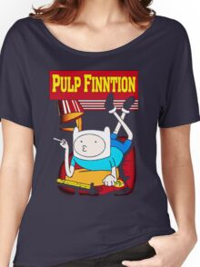 Funny Pulp Finntion Adventure Time Women's Relaxed Fit T-Shirt