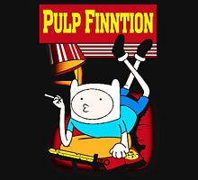 Funny Pulp Finntion Adventure Time Women's Fitted Scoop T-Shirt