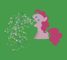Pinkie Pie Confetti Vomit Kids Clothes