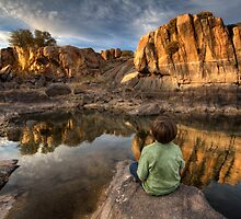Reflective Moment by Bob Larson