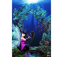 Alphabet Fairy- Oceana Photographic Print