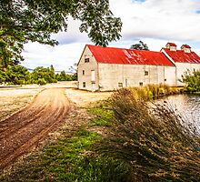 Oast House, New Norfolk, Tasmania by Cate O'Donnell