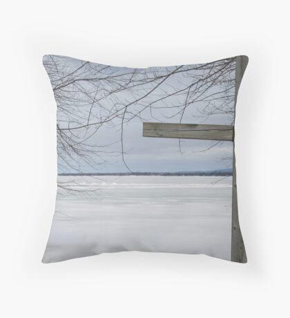 Hey-zeus - Perspective 3  Throw Pillow