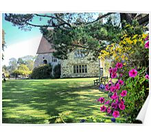Michelham Priory,,, Flowers Poster