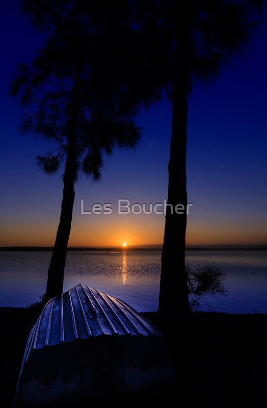 Time and tide wait for no man.... by Les Boucher